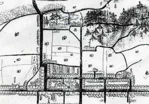 玖波の古地図